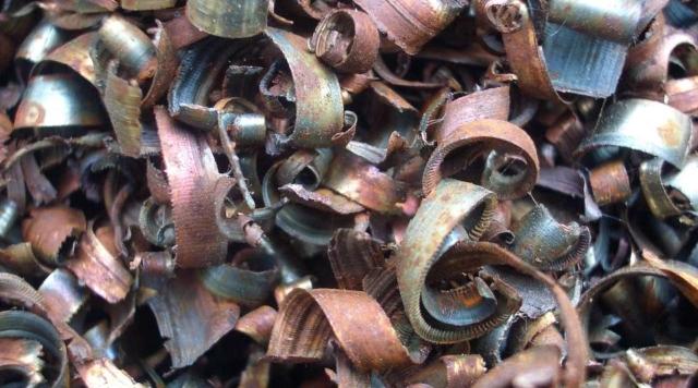Сдать металлическую стружку