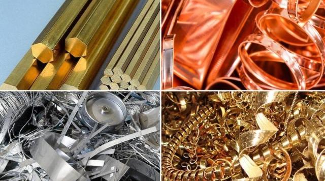 Заготовка лома цветных металлов