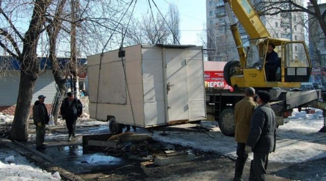 Демонтаж (снос) киосков в Екатеринбурге